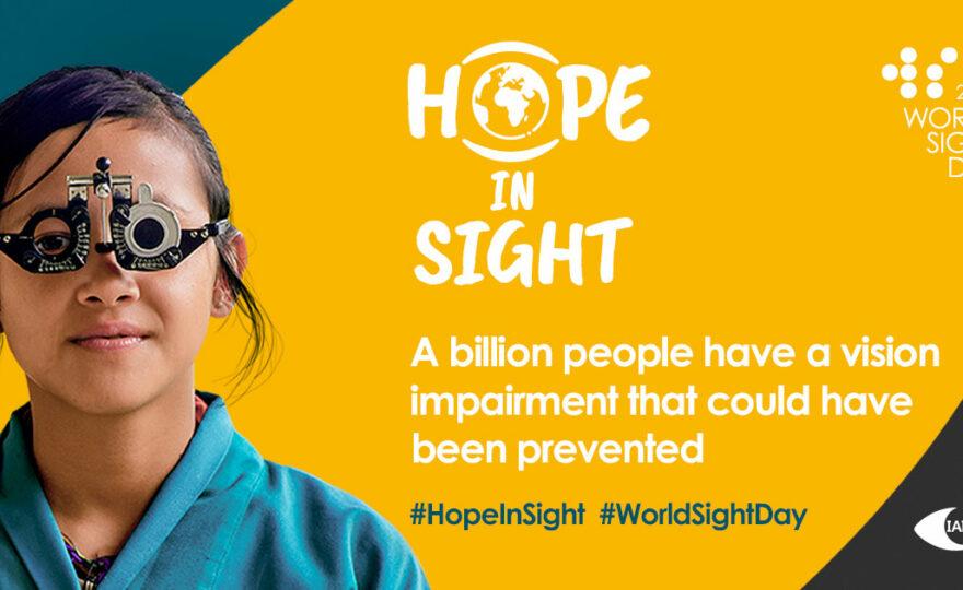 World Sight Day: 8 October 2020