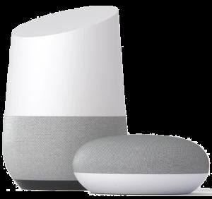 Image of Google Home Smart Speakers