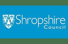 Logo Shropshire Council Vision Technology & Training